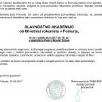 60-letnica rokometa v Pomurju